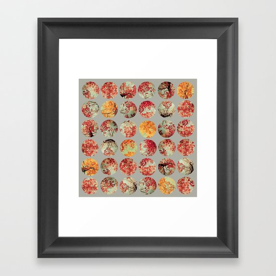 Inkblot Quilt - by Garima Dhawan and Joy StClaire Framed Art Print