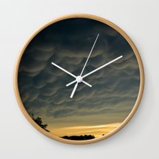 Strange Sky Wall Clock