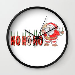 Happy Chrismukkah! Wall Clock