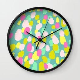 Spring vibes III Wall Clock