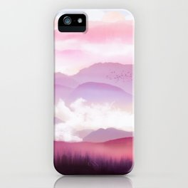 Candy Floss Mist iPhone Case