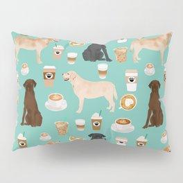 Labrador retriever gifts for lab owners golden retriever chocolate lab black lab dog breeds Pillow Sham