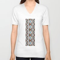 diamonds V-neck T-shirts featuring Diamonds by ghennah