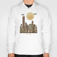 miami Hoodies featuring miami city  by bri.buckley