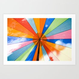 Colors of the Rainbow Art Print