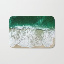 miami beach aerial view Bath Mat