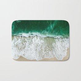 miami beach aerial view Bath Mat