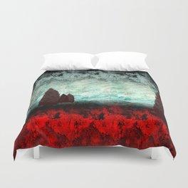 Fantasy Landscape Duvet Cover