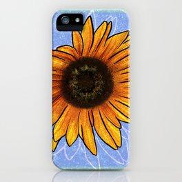 Censored Sunflower iPhone Case
