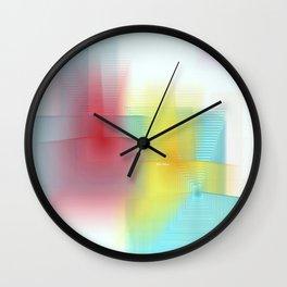 Abstract 1602 Wall Clock