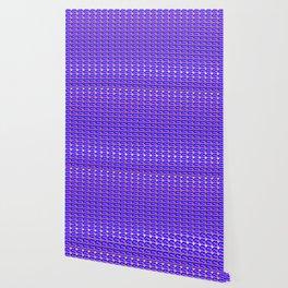Modius Loop Blue/Lavender on Gold Wallpaper