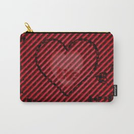 A Golden Heart With Hearts of Love Carry-All Pouch