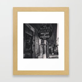 Voodoo House Framed Art Print