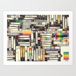 VHS I Art Print
