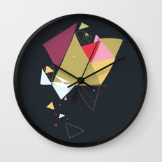Exploding Triangles//Four Wall Clock