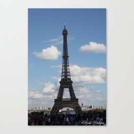 Eiffel Tower 03 Canvas Print