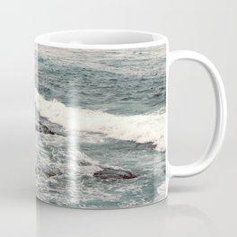 Cyan Sea #2 Coffee Mug