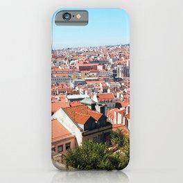 Lisbon, Portugal Analog 6x6 Kodak Ektar 100 (RR 162) iPhone Case