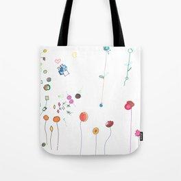 Floral Fall Tote Bag