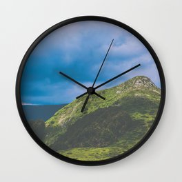 Nature enviroment Hill landscape Wall Clock