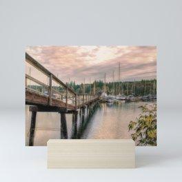 Bainbridge Harbor Mini Art Print