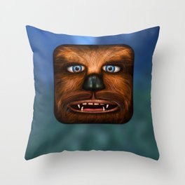 Chewbacca Throw Pillow