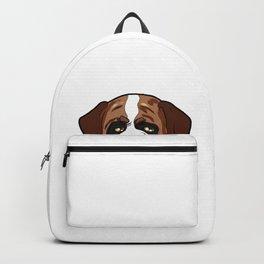 St. Bernards St. Bernhardshund Bernhardiner Dog Backpack