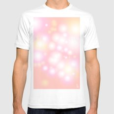 Soft Pearls Mens Fitted Tee White MEDIUM
