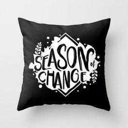 Autumn And Spring Throw Pillow