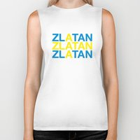 zlatan Biker Tanks featuring ZLATAN by eyesblau