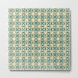 Abstract Pattern No. 9 Metal Print