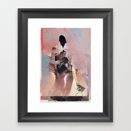 Silence Breaker Framed Art Print