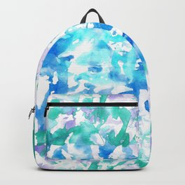 Contemplation for inner peace Backpack