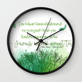 MAYBE SOMEDAY . COLLEEN HOOVER Wall Clock