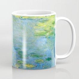 1906-Claude Monet-Waterlilies-73 x 92 Coffee Mug