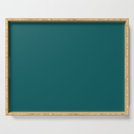 Pantone 19-4524 Shaded Spruce Serving Tray