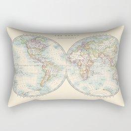Hemispheres Rectangular Pillow