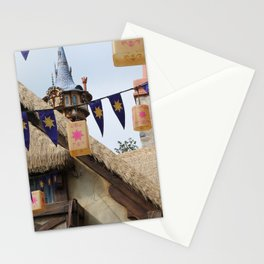 Tangled Tower Stationery Cards