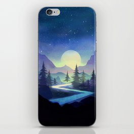 Touching the Stars iPhone Skin