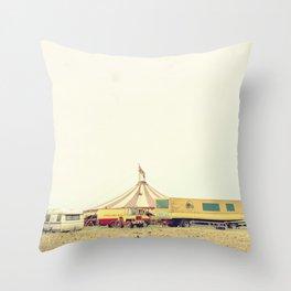 CIRCUS RENZ _2 Throw Pillow