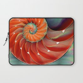 Nautilus Shell - Nature's Perfection by Sharon Cummings Laptop Sleeve