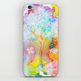 Tree of life painting iPhone Skin