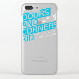 The Expanse Doors and Corners Premium T-Shirt Clear iPhone Case