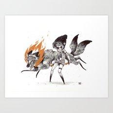 Kludde Art Print