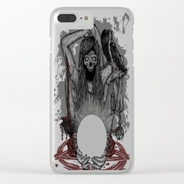 Misfortune Teller Clear iPhone Case