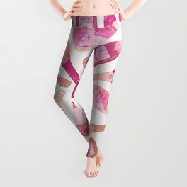 French Champagne Collection – Pink Leggings