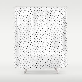 Random Polka ///www.pencilmeinstationery.com Shower Curtain