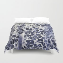 Purple-blue abstract Duvet Cover