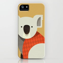Hello Koala iPhone Case