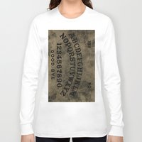 ouija Long Sleeve T-shirts featuring Ouija by Andrea Raths